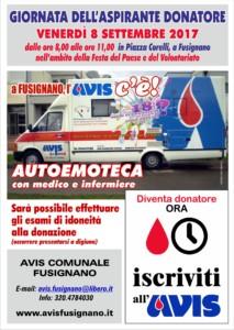 Giornata dell'aspirante donatore @ Piazza Corelli   Fusignano   Emilia-Romagna   Italia