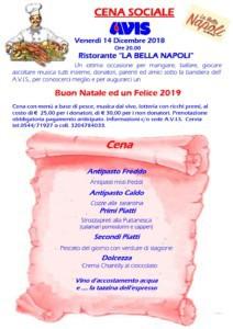 "Cena sociale AVIS @ Ristorante ""La Bella Napoli"""