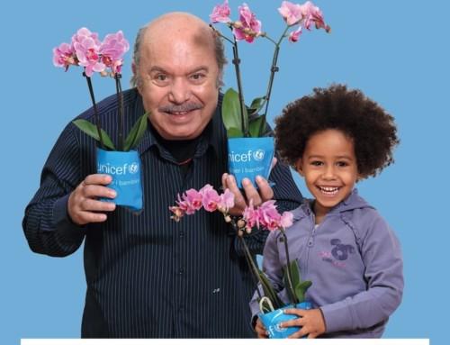 Orchidea UNICEF per i bambini