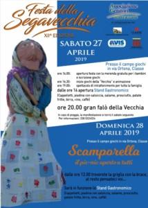Festa della segavecchia - AVIS Ravenna @ Campo Giochi