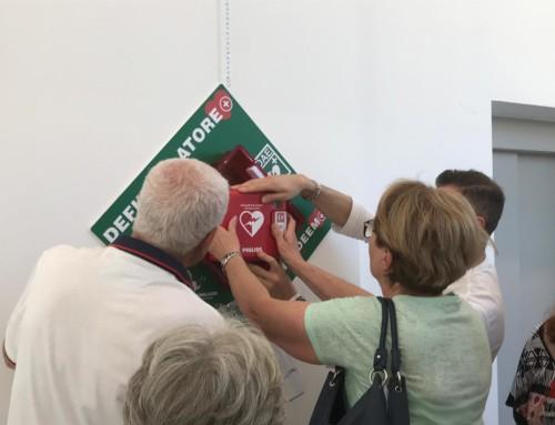 Nuovo defibrillatore per la Scuola Primaria Conselice