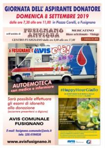 Giornata dell'aspirante donatore - AVIS Fusignano @ Piazza Corelli   Fusignano   Emilia-Romagna   Italia