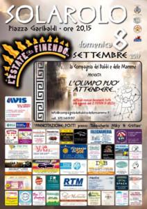 L'olimpo può attendere - AVIS Solarolo @ Piazza Garibaldi  | Solarolo | Emilia-Romagna | Italia