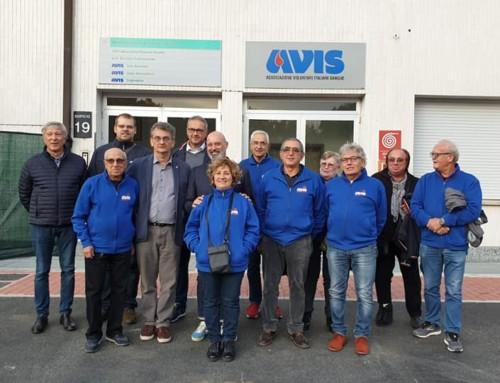 Visita istituzionale al Punto di Raccolta AVIS Faenza