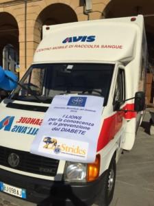 Lions e AVIS per la prevenzione del diabete - AVIS Bagnacavallo @ Piazza della Libertà | Bagnacavallo | Emilia-Romagna | Italia