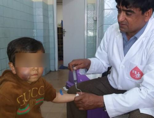 Un ringraziamento da parte del Centro emofilia di Kabul e dell'Ass.ne Pazienti Emofilici Afghani AHPA
